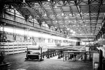 WMD S.A. - hala produkcyjna
